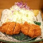 富士喜 - 厚切りヒレカツ定食