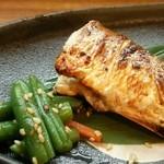 旬の魚菜 きり山 - おまかせのカマスの山椒焼