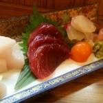 旬の魚菜 きり山 - おまかせの刺盛り