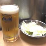 元祖串かつ だるま 新世界総本店 - いやいや~大阪で串かつとビール、最高です(*≧m≦*)