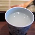 真田 - 蕎麦湯