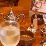 珈琲美人 文月 - テーブル