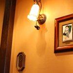 珈琲美人 文月 - 壁面