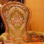 珈琲美人 文月 - 椅子