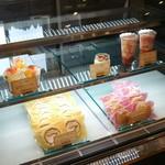 森のマルシェ - トマトロールケーキ*トマトシュークリームもあったよ!