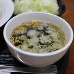 ぽぷら - スープ