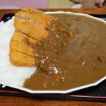 ぽぷら - ジャンボカツカレー(裏メニュー)