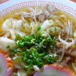 ひかり食堂 - 料理写真:中華そば 500円
