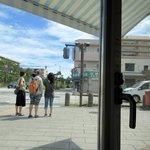 松風SAND&BAR - 窓からの景色(髙松公園前交差点)