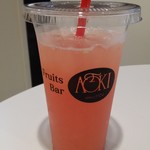 フルーツバーAOKI - グレープフルーツジュース