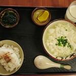 とうふの比嘉 - ゆし豆腐セット(小)…税込350円