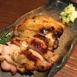 土風炉 - 鳥もも肉 京都白味噌 西京漬け 550円