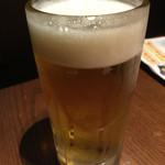 土風炉 - 生ビール680円