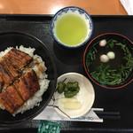 浜名湖近鉄レストラン - 鰻丼です(^^)美味