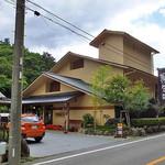 割烹旅館 湯の花荘 - 通称『塩原バレーライン』沿いにあります(2016年8月)