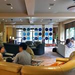割烹旅館 湯の花荘 - ロビー(2016年8月)
