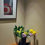 割烹旅館 湯の花荘 - 離れの客室『武蔵』の玄関(2016年8月)