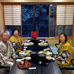 割烹旅館 湯の花荘 - 食事会場(2016年8月)