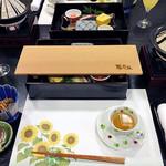 割烹旅館 湯の花荘 - 朝食(2016年8月)