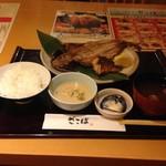 55046114 - 市場の焼魚定食