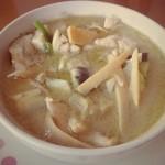 スワンナプーム - 料理写真:グリーンカレー