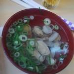 大市寿司 - セットのあさり吸い物