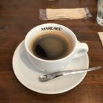 Pizzeria luna e Dolce - セットのコーヒー