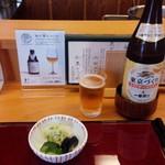 55048184 - 瓶ビールでまずは乾杯(16-08)