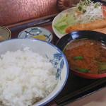 ひさ - えびフライ定食