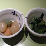 石塀小路 豆ちゃ - お通し(20111230)