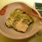 石塀小路 豆ちゃ - 豆腐のティラミス
