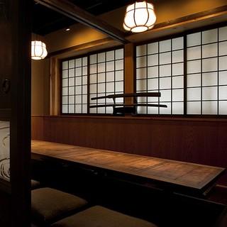 これぞ日本空間にこだわる世界の「三船」を感じられる和空間