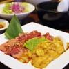 焼肉なべしま - 料理写真:カルビ&ホルモンランチ
