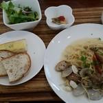 カフェデゴハン - 料理写真:パスタのランチセット