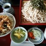 55050326 - ミニかき揚丼ザル 900円