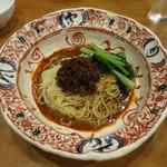 天鳳 - 汁無し坦々麺(特別料理)