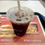 マクドナルド - アイスコーヒー100円