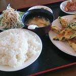 本格台湾料理 紅四季 - ニラ玉子ランチ