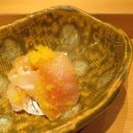 Shigeru - イサキの生カラスミ和え2