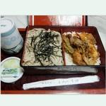 55057385 - 天丼セット¥1,500( '14.11)