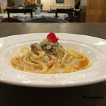 サヴァロッソ - ブイヤベーススープ+クラムチャウダーソース