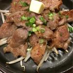 55060219 - ラム肉の鉄板焼き