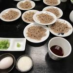 正覚 田中屋 - 出石皿そば(1人前は5皿です)
