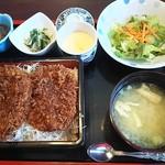 55060653 - 「たれヒレカツ丼 松」(1,480円)です