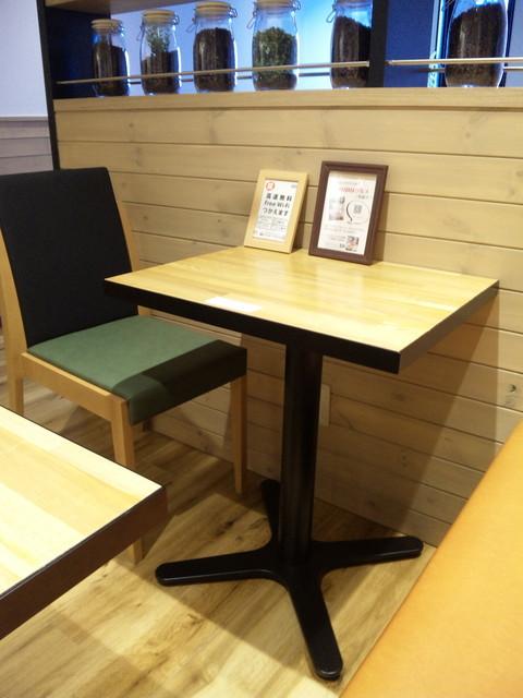 キーズカフェ 静岡呉服町店 - 3Fテーブル席