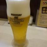 博多祇園鉄なべ - 2016年7月 ザ・プレミアム・モルツ 470円