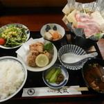 ちゃんこ大政  - 料理写真:プチ鍋ランチBセット