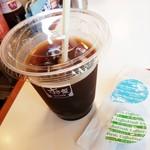 すき家 - アイスコーヒーM 100円 2016/08