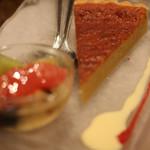 レストラン CAPTAIN - デザート・宇部市西岐波「西本牛乳」のココナッツ風味ブランマンジェ
