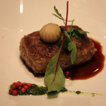 レストラン CAPTAIN - 肉料理・山口宇部牛のハンバーグ